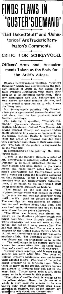 The New York Herald, April 28, 1903