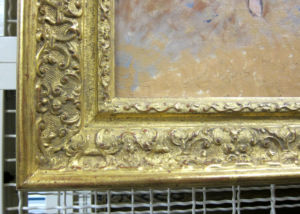 Ornate French frame