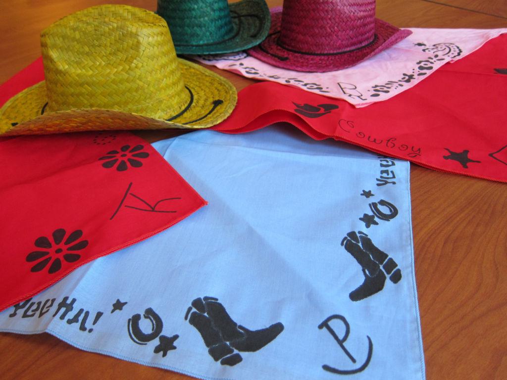 Bandanas and Cowboy Hats