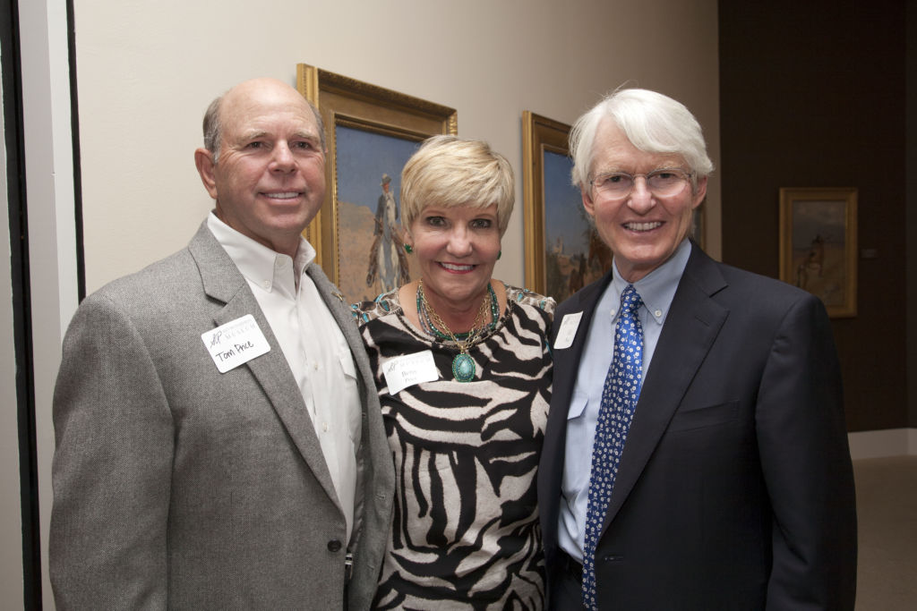 Tom Price, Mayor Betsy Price, and Ed Bass