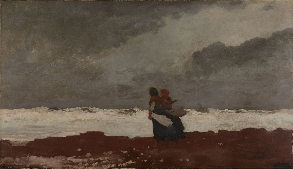 Tow Figures by the Sea by Winslow Homer