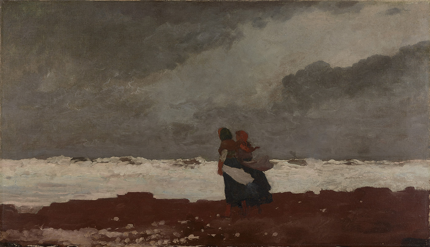 Two Figures by the Sea by Winslow Homer