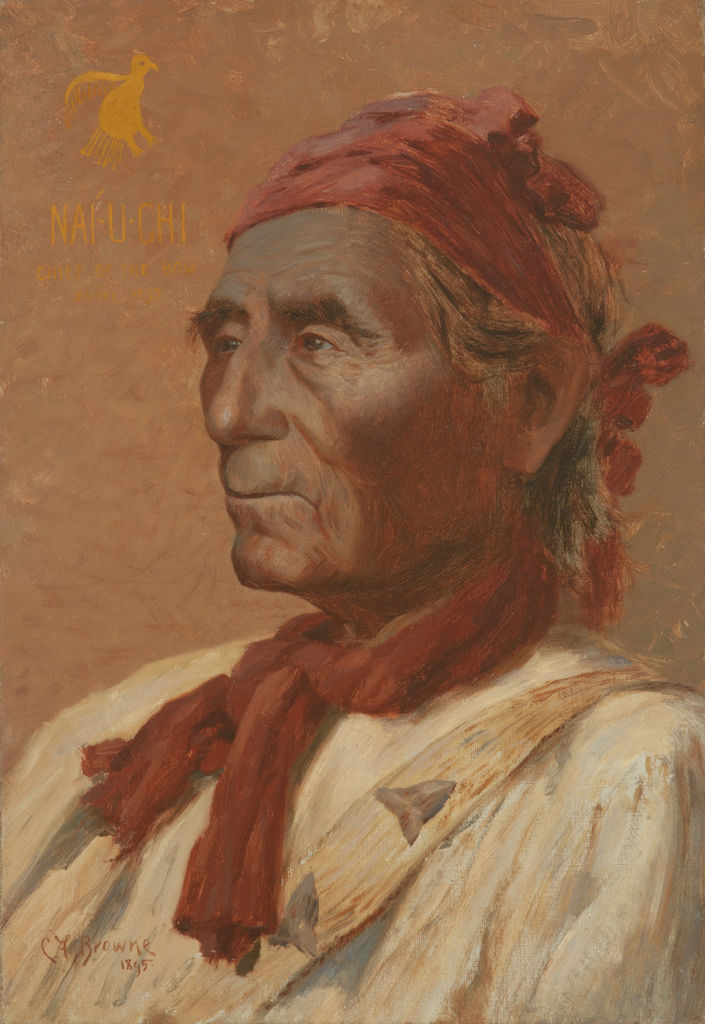 Nai-U-Chi: Chief Of The Bow, Zuni 1895