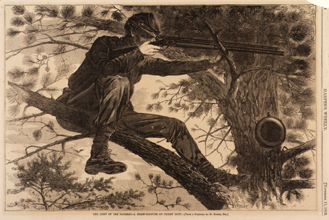 The Army of the Potomac by Winslow Homer