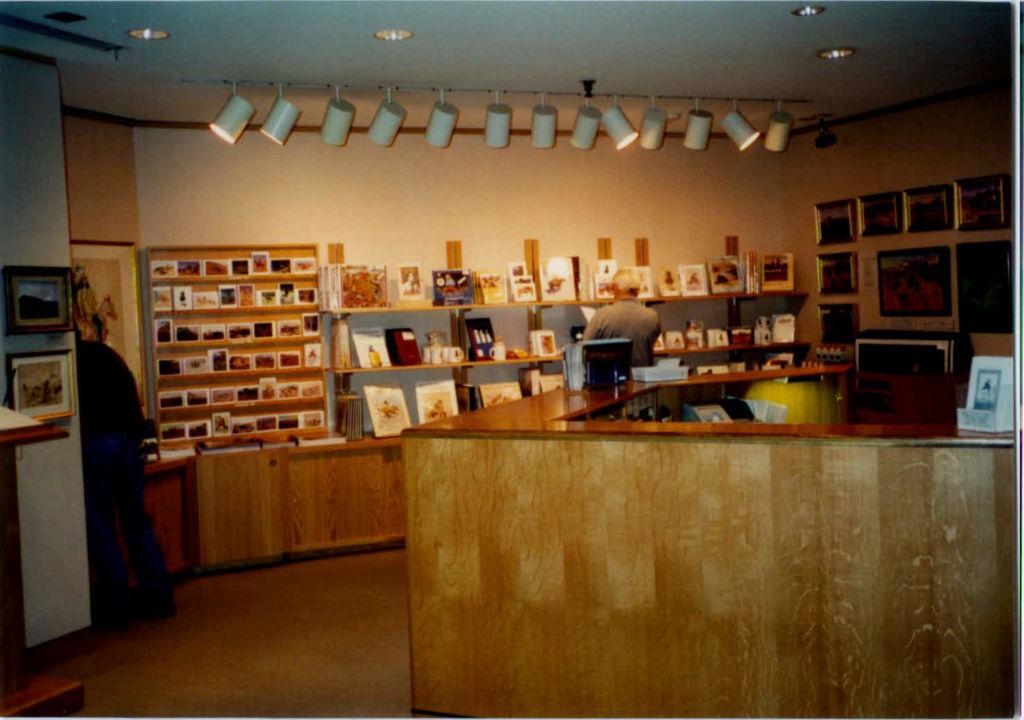 Interior of Museum Store, 1982