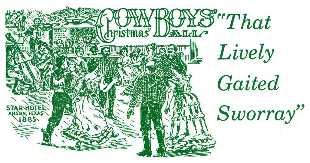 Texas Cowboys' Christmas Ball promotion